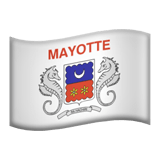 Mayotte Apple Emoji